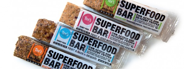 Tee's Superfood Bar Flexo Packaging